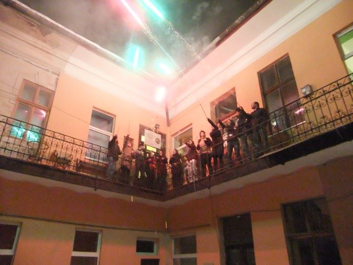 Transylvania Hostel New Year's