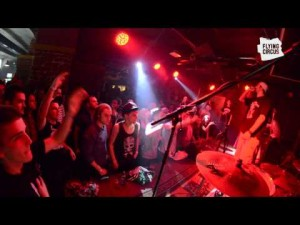 People at concert in Flying Circus Cluj-Napoca