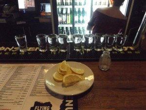 shots night at flying circus cluj