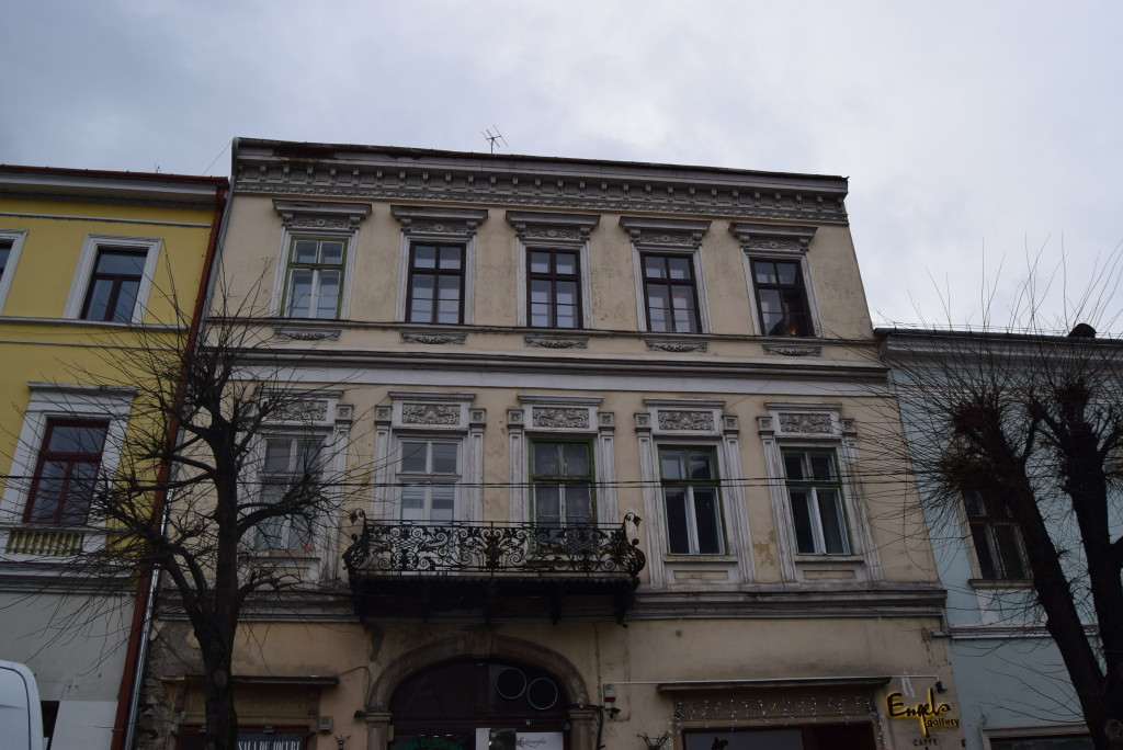 Architecture in Cluj. Wesselényi House. Baroque