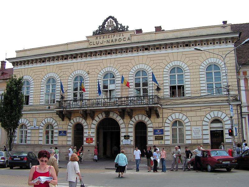Architecture of Cluj - Old town hall