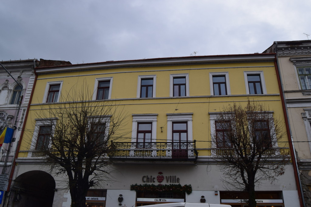 The Fröhlich House. Architecture of cluj