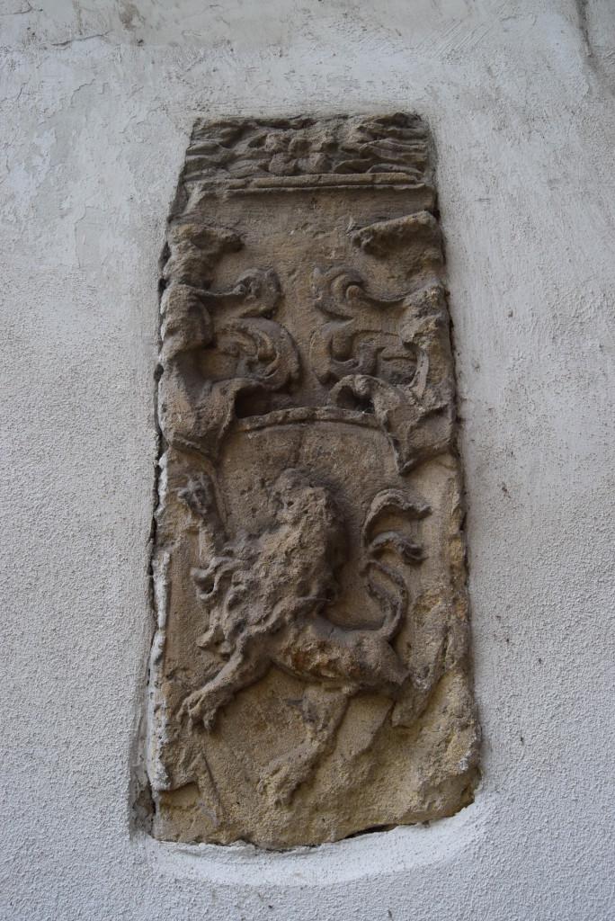 Architecture Cluj. Renaissance decoration.