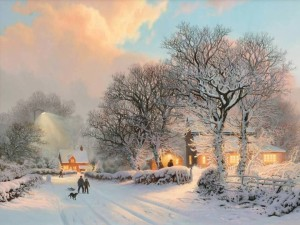 iarna pe ulita in maramures