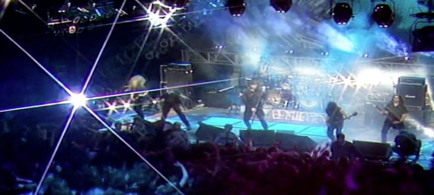 live metal concert