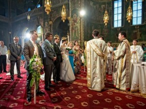 Romanian Wedding in the Church