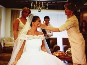 Romanian Weddings preparing the bride
