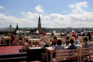 Klausen Burger roof top restaurant in Cluj (1)